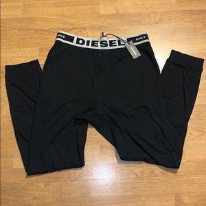 NWT Diesel Juilo Pajama Trousers, Black, S
